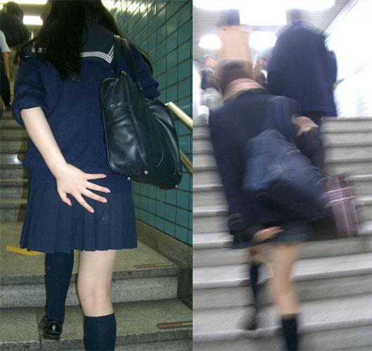 Японцы юбки трусы